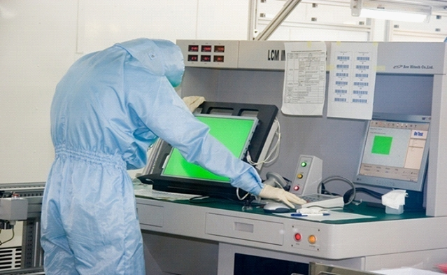 LCD panel production and repair